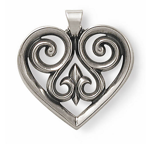 View Larger Image of French Heart Pendant