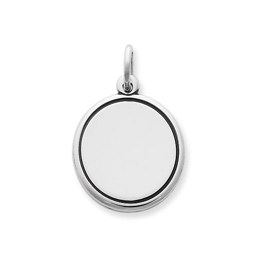 View Larger Image of Engravable Disc Charm