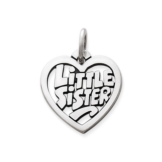 "View Larger Image of ""Little Sister"" Heart Charm"