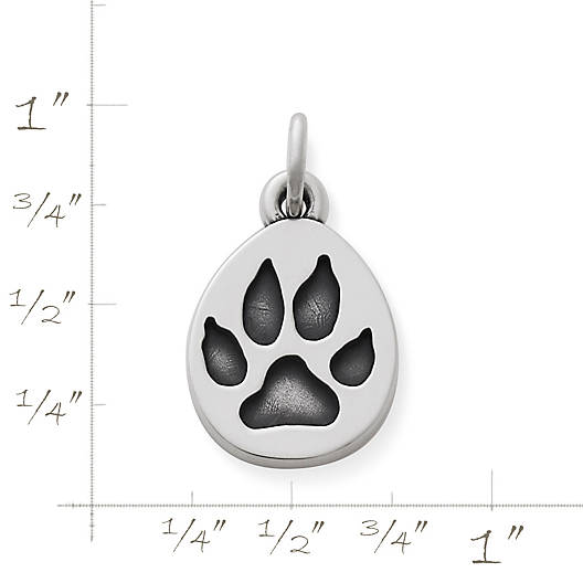 View Larger Image of Paw Print Charm