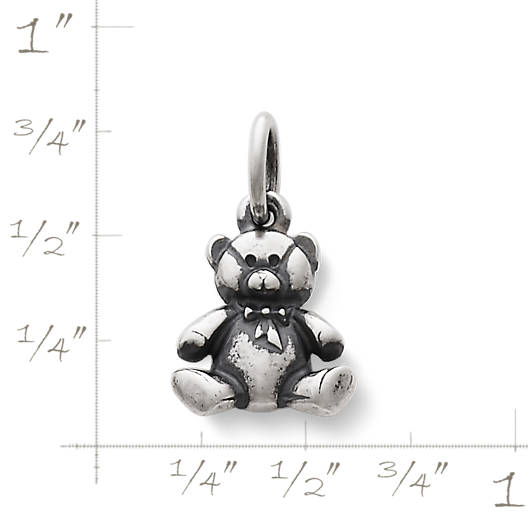 View Larger Image of Stuffed Teddy Bear Charm