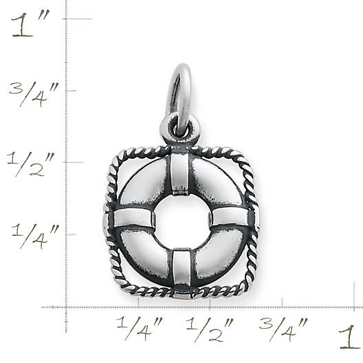 View Larger Image of Life Preserver Charm