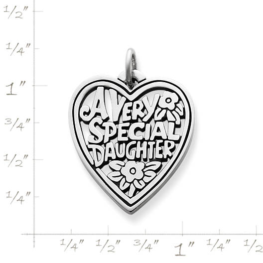"View Larger Image of ""Very Special Daughter"" Charm"