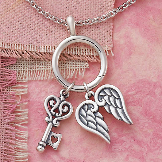 View Larger Image of Key to My Heart Charm
