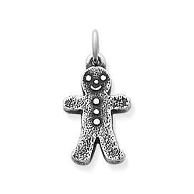 Gingerbread Boy Charm
