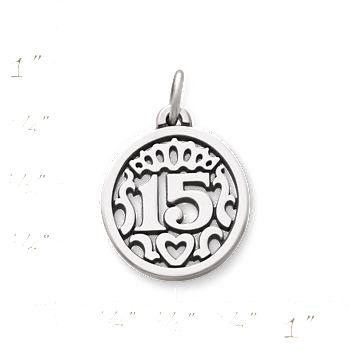Quinceanera Charm James Avery