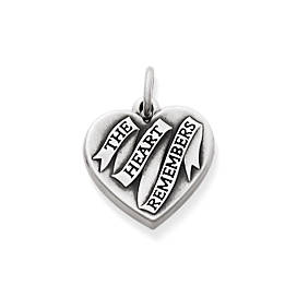 """The Heart Remembers"" Charm"