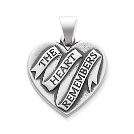 """The Heart Remembers"" Pendant"