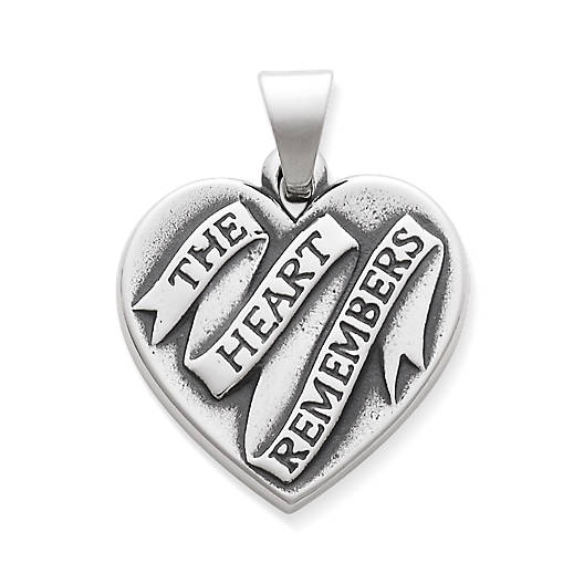 View Larger Image of The Heart Remembers Pendant