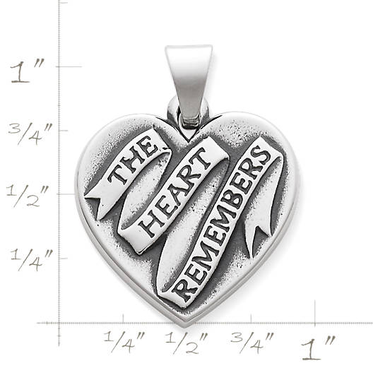 "View Larger Image of ""The Heart Remembers"" Pendant"