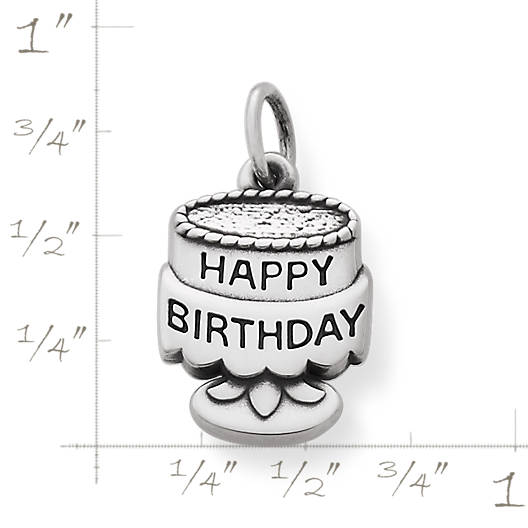 View Larger Image of Tiny Birthday Cake Charm