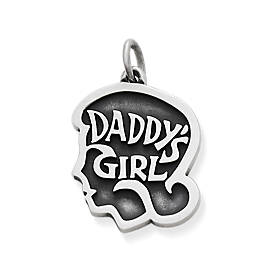 """Daddy's Girl"" Charm"