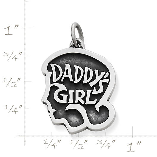 "View Larger Image of ""Daddy's Girl"" Charm"