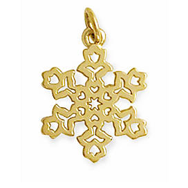 Dutch Snowflake Charm