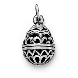 Hollow Openwork Easter Egg Charm