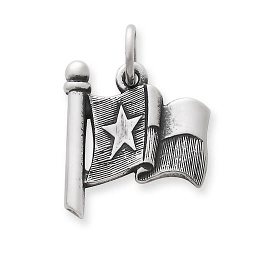 View Larger Image of Texas Flag Charm