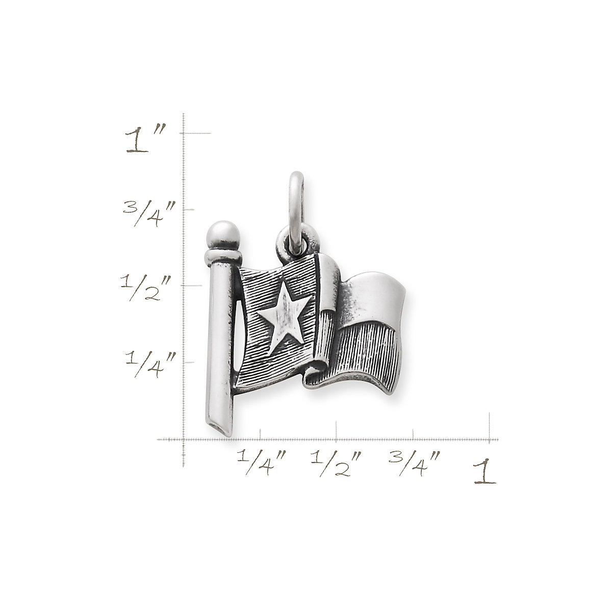 Texas Flag Charm James Avery