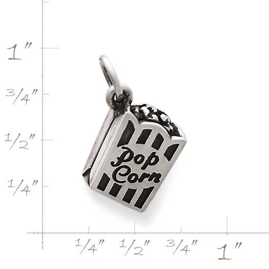 View Larger Image of Popcorn Box Charm