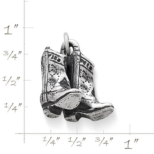View Larger Image of Cowboy Boots Charm
