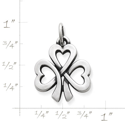View Larger Image of Shamrock of Hearts Charm