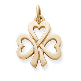 Shamrock of Hearts Charm