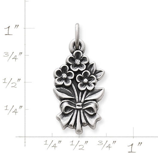View Larger Image of Bouquet of Flowers Charm