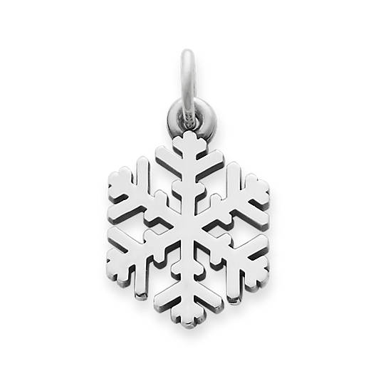 View Larger Image of Snow Crystal Charm