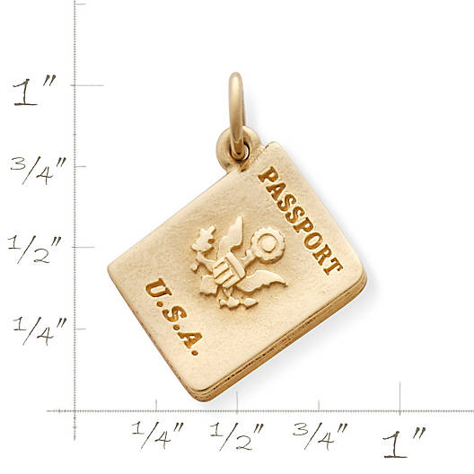 View Larger Image of Passport Charm
