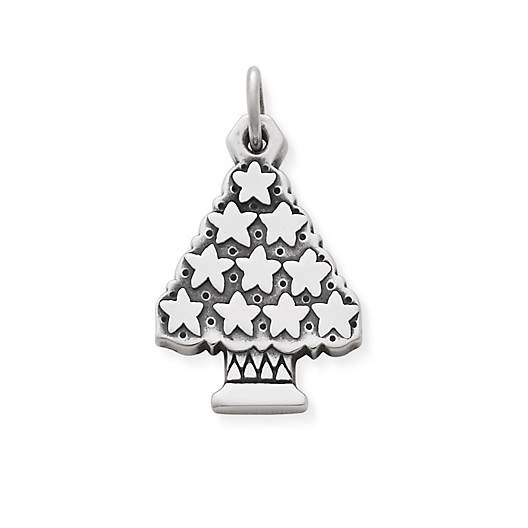 View Larger Image of Christmas Tree with Stars Charm