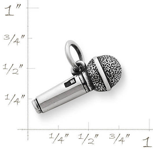 View Larger Image of Microphone Charm