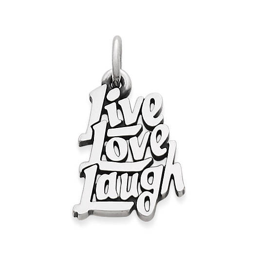 "View Larger Image of ""Live, Love, Laugh"" Charm"