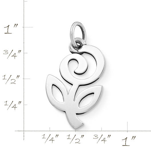 View Larger Image of Flower of Hope Charm