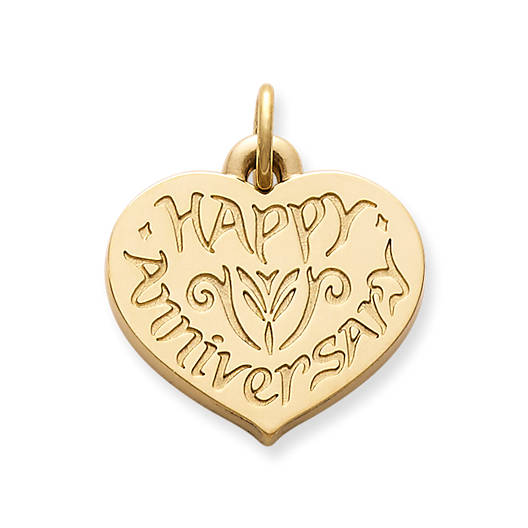 "View Larger Image of ""Happy Anniversary"" Charm"