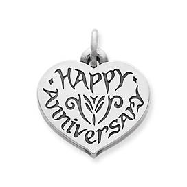 """Happy Anniversary"" Charm"