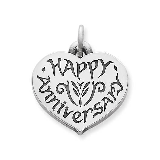 """Happy Anniversary"" Charm"