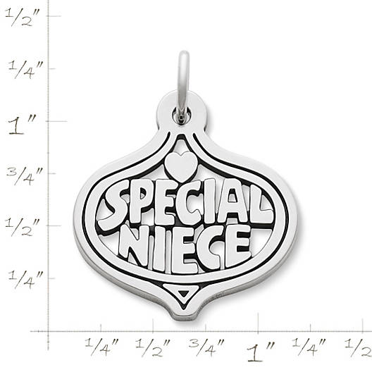 "View Larger Image of ""Special Niece"" Charm"