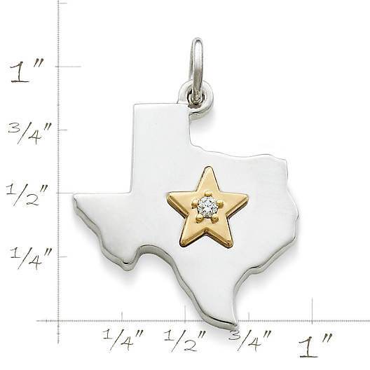 View Larger Image of Star of Texas Diamond Pendant
