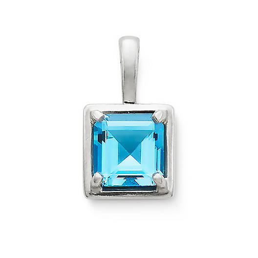View Larger Image of Bella Pendant with Blue Topaz