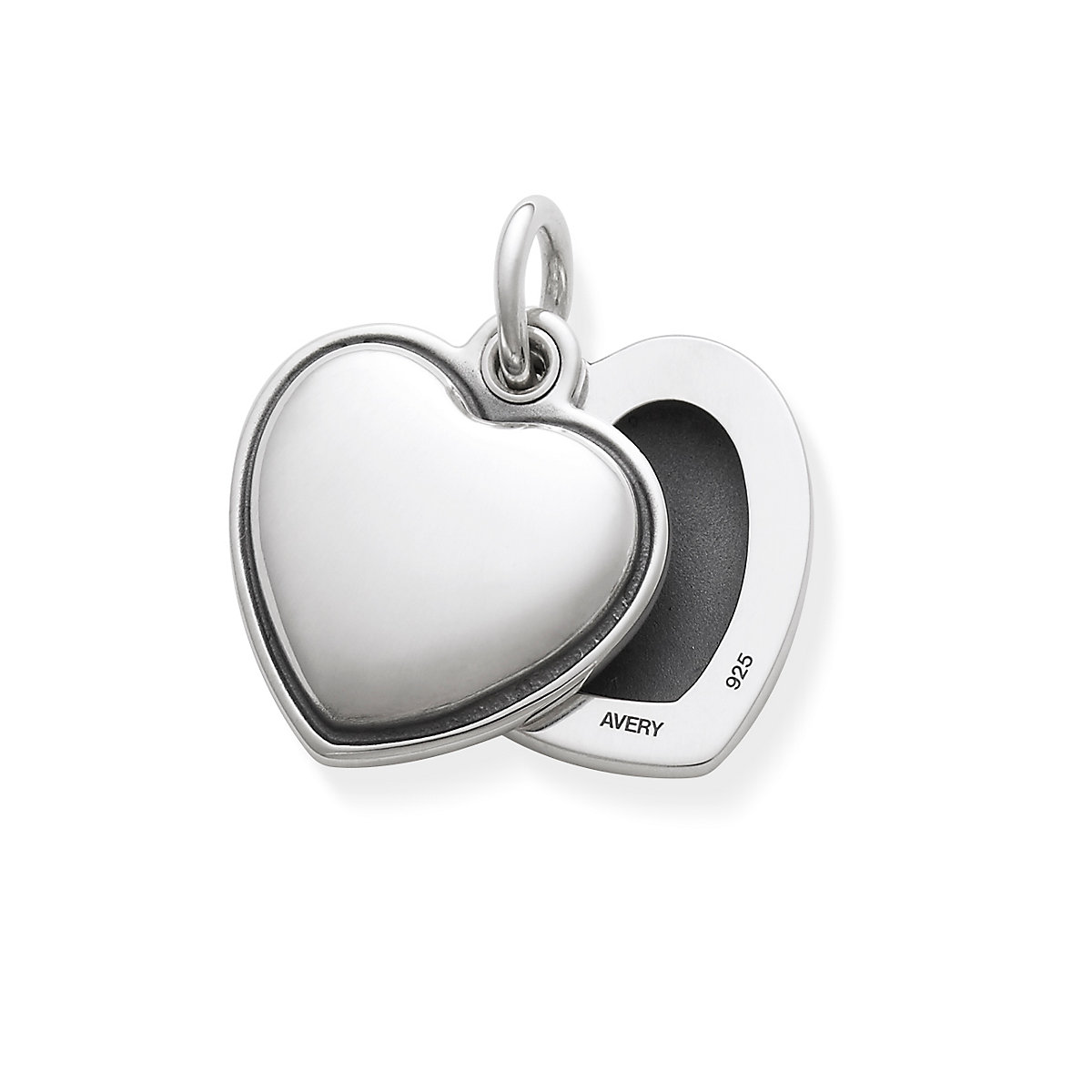 Swivel Heart Locket Pendant