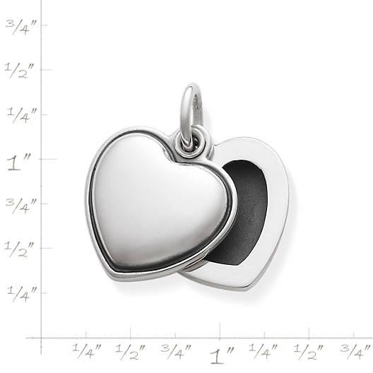 View Larger Image of Swivel Heart Locket Pendant