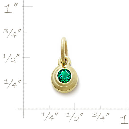 View Larger Image of Avery Remembrance Pendant with Lab-Created Emerald