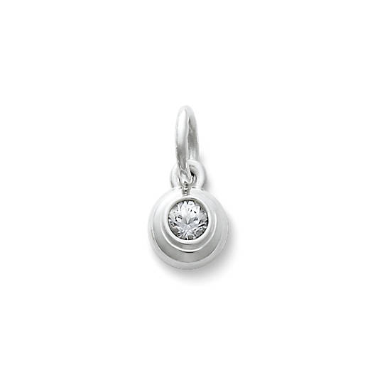 View Larger Image of Avery Remembrance Pendant with Lab-Created White Sapphire