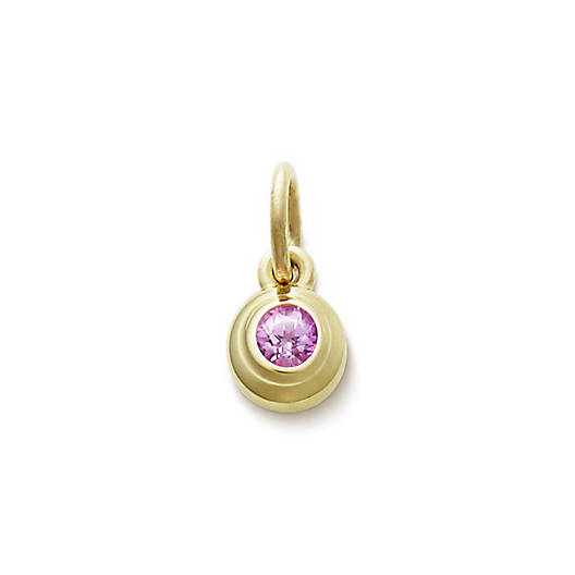 View Larger Image of Avery Remembrance Pendant with Lab-Created Pink Sapphire