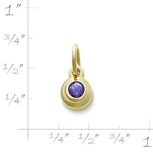 View Larger Image of Avery Remembrance Pendant with Lab-Created Alexandrite