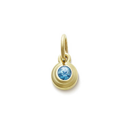 View Larger Image of Avery Remembrance Pendant with Blue Zircon