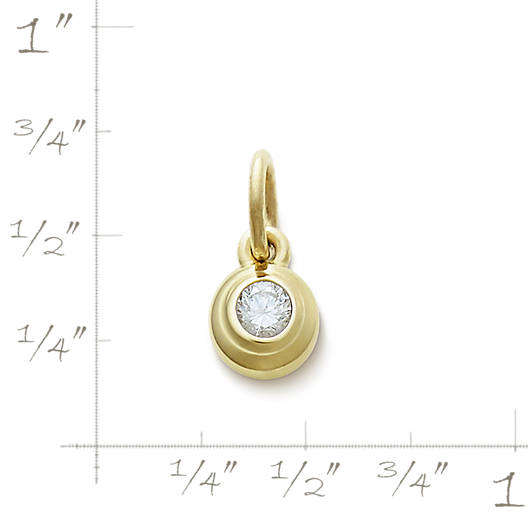 View Larger Image of Avery Remembrance Pendant with Diamond