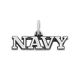 """Navy"" Charm"