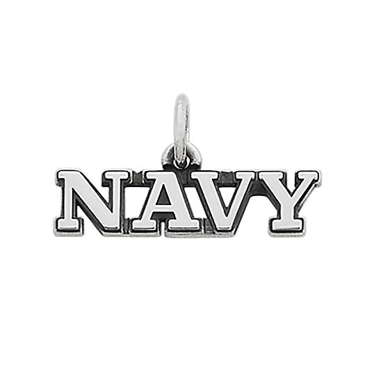 "View Larger Image of ""Navy"" Charm"