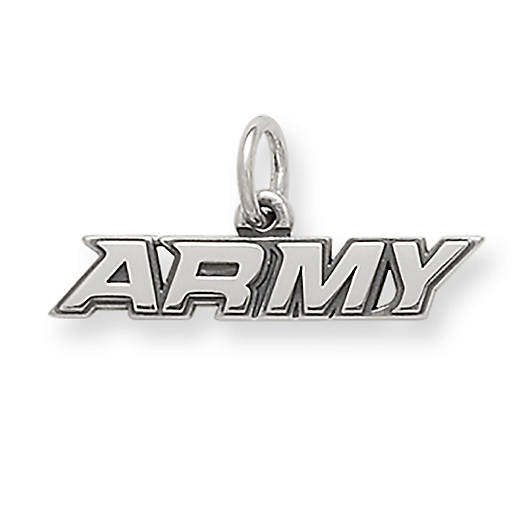 "View Larger Image of ""Army"" Charm"
