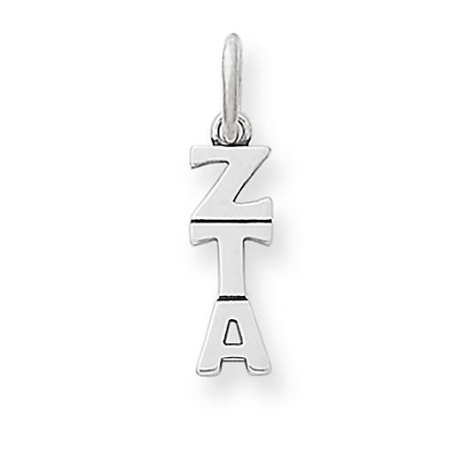 View Larger Image of Zeta Tau Alpha Sorority Charm